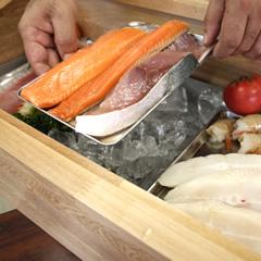 食材の乾燥を抑え、鮮度を守ります。